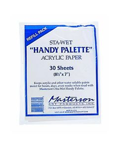 Mastersons Sta Wet 'Handy' Membrane Acrylic 30 Sheets