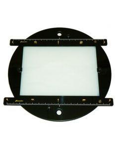 Black Plexiglas Animation Disc - 12F