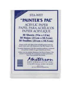 Mastersons Sta Wet 'Painters Pal' Membrane Acrylic 30 Sheets