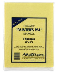 Mastersons Sta Wet 'Painters Pal' Sponge - Pack of 3