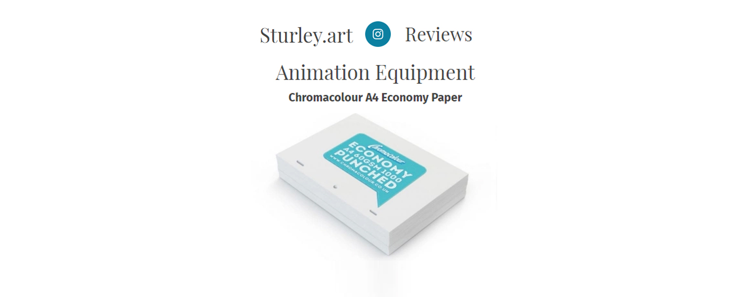 Sturley Art Recommends Chromacolour Products